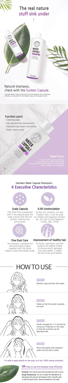 Water Capsule Shampoo