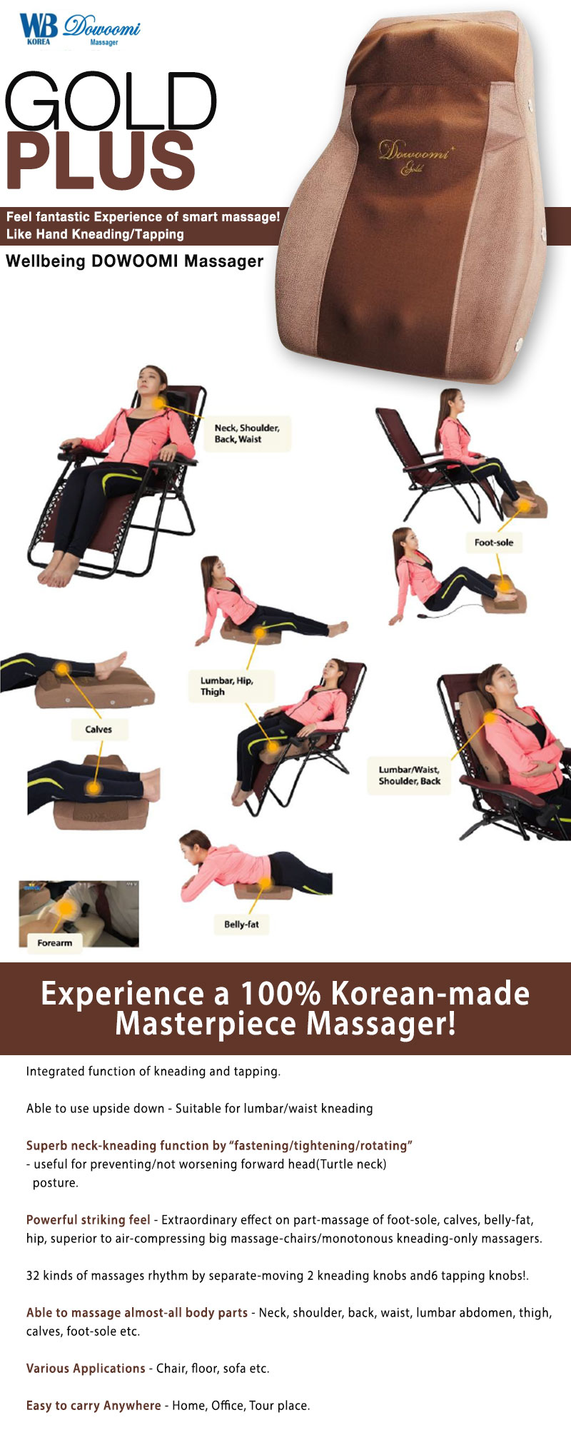 Massager Gold Plus