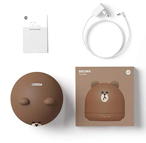 Details about LINE FRIENDS OA Mini Humidifier BROWN